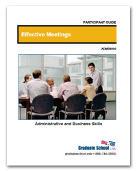Cover (Effective Meetings)